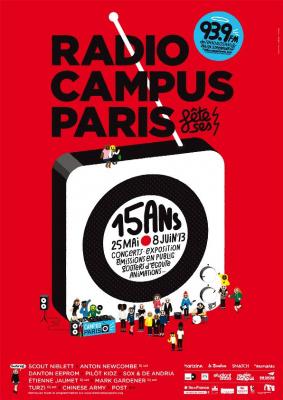 Radio Campus fête ses 15 ans en musique
