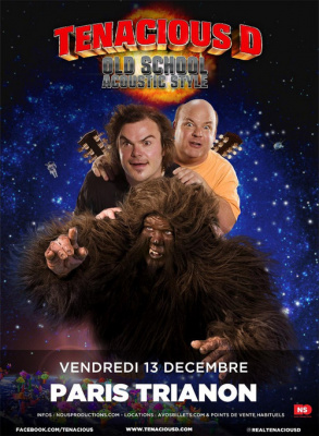 Tenacious D en concert au Trianon en décembre 2013