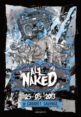 All Naked 2.0 au Cabaret Sauvage
