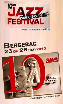 Guide des Festivals 2013 : Jazz Pourpre à Bergerac