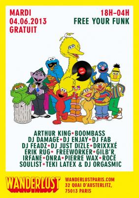 Free your Funk au Wanderlust