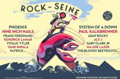 Rock en Seine 2013 : Belle & Sebastian, Eels, Tricky... nouveaux noms confirmés!