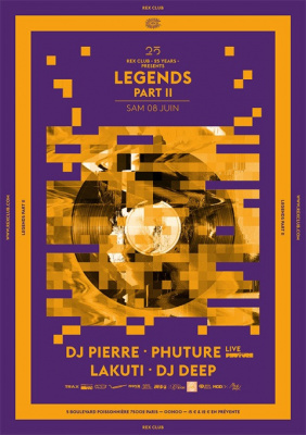 Rex Club « 25 years » : Legends Part 2