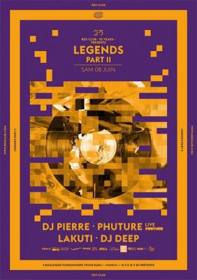Rex Club « 25 years » : Legends Part 2