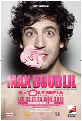 Max Boublil à l'Olympia : gagnez vos places !