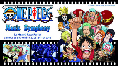 One Piece Music Symphony au Grand Rex en septembre 2013
