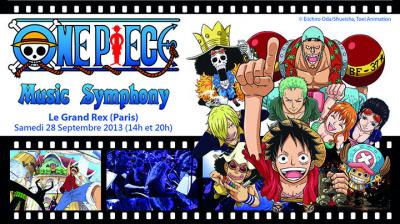 One Piece Music Symphony au Grand Rex en septembre 2013