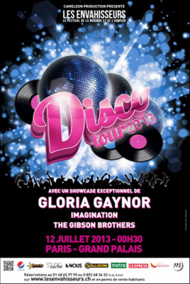Disco Tour 2013 avec Gloria Gaynor au Grand Palais
