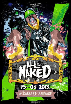 All Naked 2.0 #4 au Cabaret Sauvage