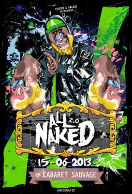 All Naked 2.0 #4 au Cabaret Sauvage