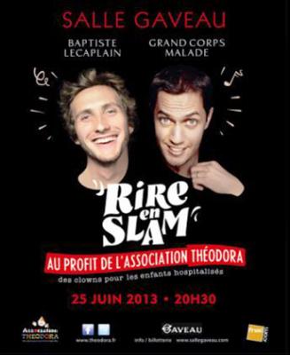 """""""Rire en Slam"""" à la Salle Gaveau"""