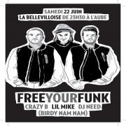 Free Your Funk à La Bellevilloise