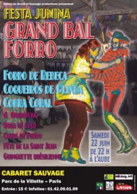 Festa Junina au Cabaret Suavage : Grand Bal Forro