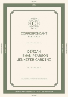 Correspondant au Rex Club avec Ewan Pearson