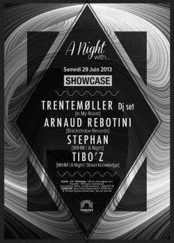 A Night with… Trentemøller et Arnaud Rebotini au Showcase
