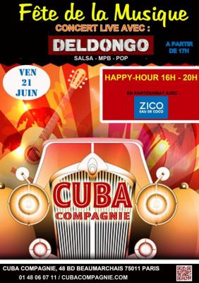 Fête de la musique 2013 au Cubana Compagnie