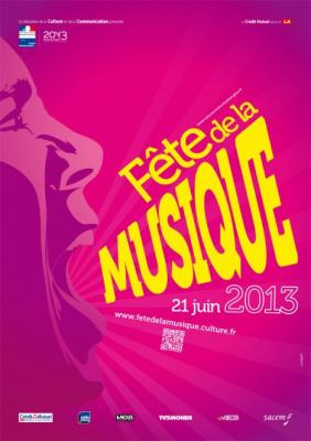 Fête de la Musique 2013 sur la Place du Palais Royal avec Michael Canitrot