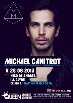Michael Canitrot au Queen Club Paris