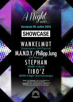 A Night With Wankelmut et Philipp Jung au Showcase