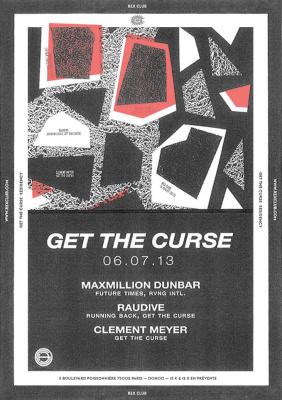 Get The Curse au Rex Club avec Raudive