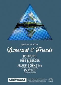Bakermat & Friends au Showcase
