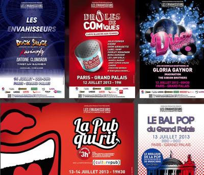 Les Envahisseurs : le festival de la musique et de l'humour au Grand Palais