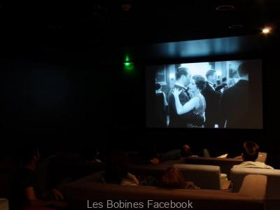 Les Bobines : le restaurant qui fait salle de cinéma