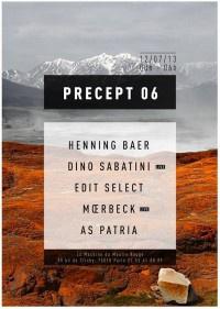 Precept 06 à la Machine avec Edit Select