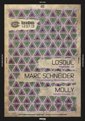 Head On au Rex Club avec Marc Schneider
