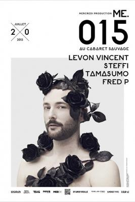 Me.015 au Cabaret Sauvage avec Levon Vincent