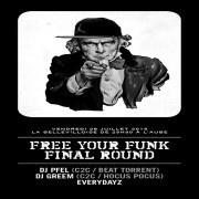 Free Your Funk à La Bellevilloise avec DJ Pfel et DJ Greem