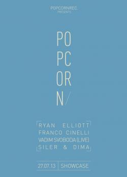Popcorn Records au Showcase avec Franco Cinelli