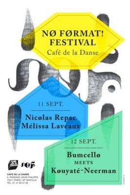 Nø FøRMAT Festival 2013 au Café de la Danse