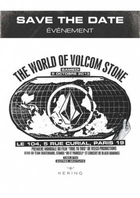 The World of Volcom Stone au Centquatre