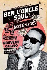 Ben L'Oncle Soul & Monophonics au Nouveau Casino en décembre 2013