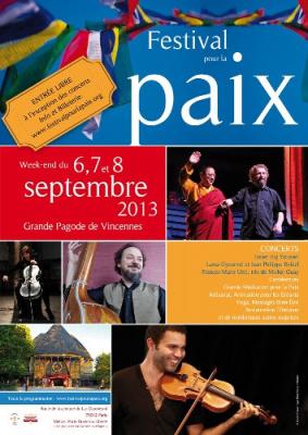Festival pour la Paix 2013 au Bois de Vincennes