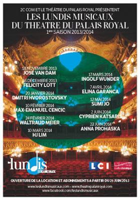Les Lundis Musicaux du Théâtre du Palais Royal