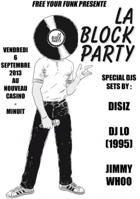 Free Your Funk : la Block Party fait sa rentrée au Nouveau Casino