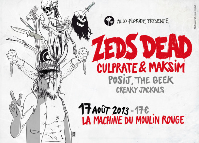 Zeds Dead à la Machine du Moulin Rouge