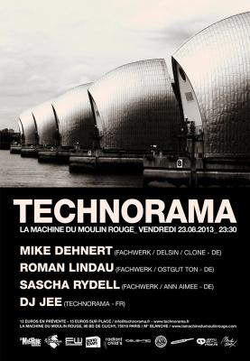 Technorama à la Machine du Moulin Rouge : Fachwerk Label Night