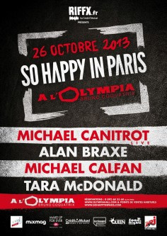 So Happy In Paris à l'Olympia avec Michael Canitrot
