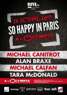 So Happy In Paris à l'Olympia avec Michael Canitrot