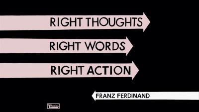 Franz Ferdinand en dédicace à la Fnac Saint Lazare