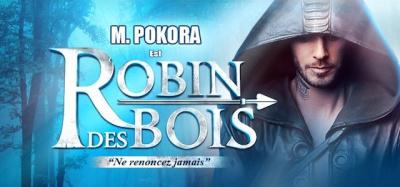 M Pokora et la troupe de Robin des Bois en dédicace à la Fnac Saint Lazare
