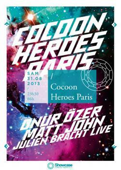 Cocoon Heroes Paris au Showcase avec Matt John