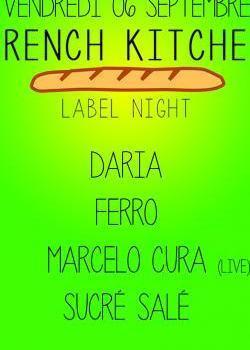 French Kitchen Label Night avec Marcelo Cura au Showcase