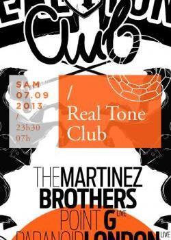 Real Tone Club au Showcase avec The Martinez Brothers