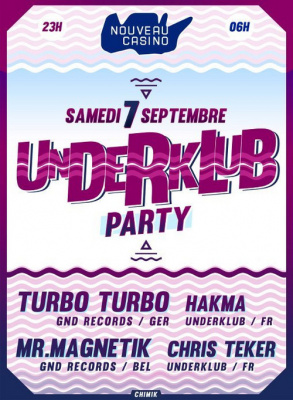 Underklub Party au Nouveau Casino