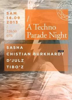 A Techno Parade Night au Showcase