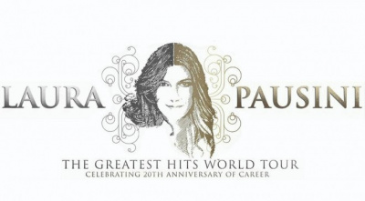 Laura Pausini en concert au Zénith de Paris en 2014
